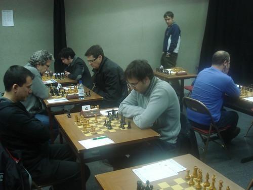 Figueres vs Andorra - Vista de la sala de joc amb Sergi Pham i Raül Garcia