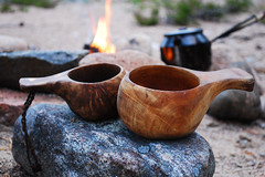 coffee time (johanskold) Tags: coffee fire mugs coffeemug coffepot