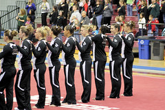TWU Gymnastics Intro (Erin Costa) Tags: horse college oklahoma turn dance bars university texas floor exercise tx kitty run womens swing beam arena mount flip gymnastics ou stick balance vault ncaa leap tumble twu routine uneven womans sooners magee dismount usag twugymnastics