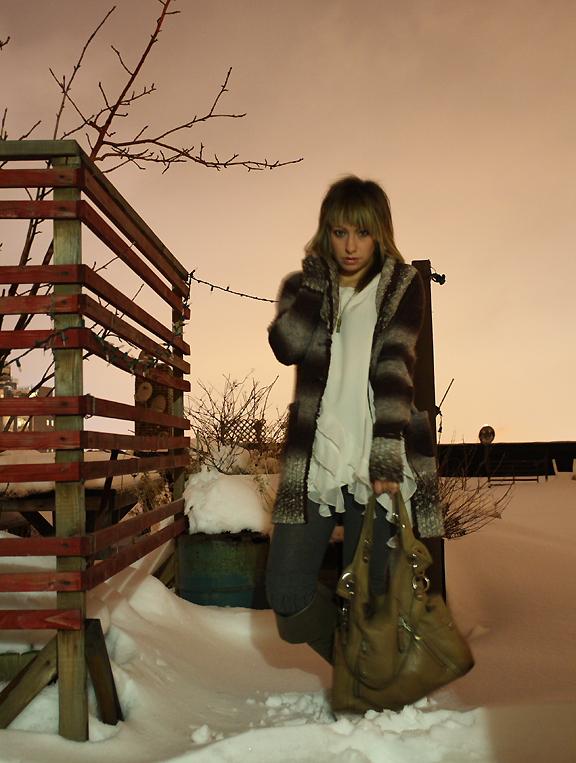 Snow @ dawn