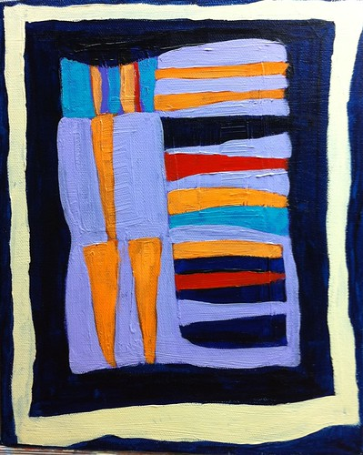 Briana's Gee's Bend Quilt Painting