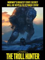 Affiche du film THE TROLL HUNTER