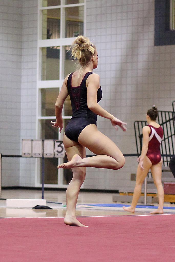TWU Gymnastics - Floor - Brittany Johnson