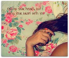 D a i l y  Q u o t e (Teka e Fabi®) Tags: flowers flores butterfly hair quote daily borboleta redhair ruivo cabelo anel frase dodia tekaefabi