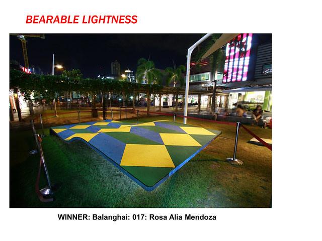 Bearable Lightness by Rosa Alia Mendoza