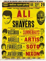 Muhammad Ali vs Ernie Sheavers (BoxingMemories) Tags: muhammadali alierniesheavers sheavers