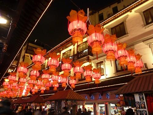 Lanterns in Yu Yuan Garden Market