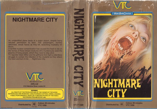 Nightmare City 1 (VHS Box Art)