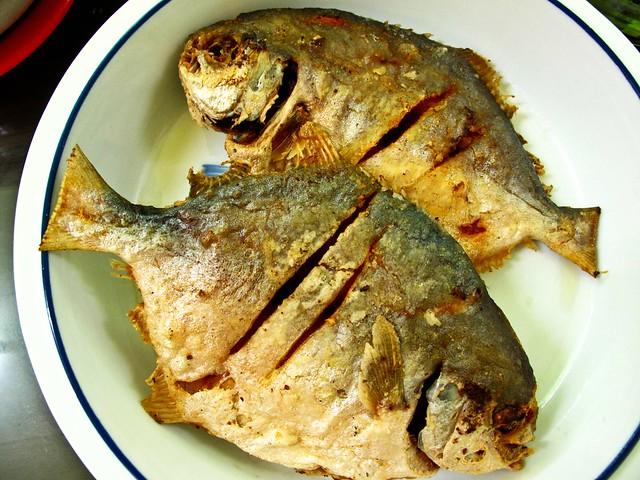 IMG_0028 煎金鲳鱼