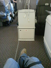 Exit row seat 30H Boeing 777 United Airlines