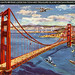 Golden Gate Bridge Looking Towards Treasure Island