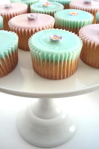 Fairy Cakes on Pedestal