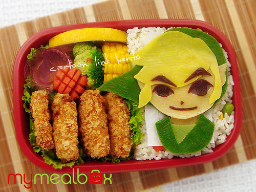 Cartoon Link bento