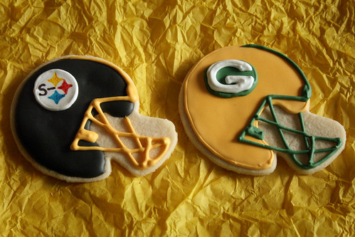 Super Bowl Cookies.