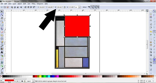 Mondrian in Inkscape