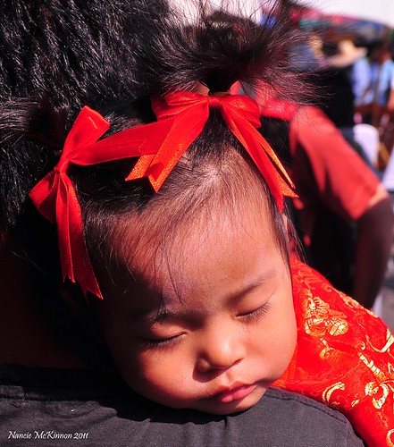 Wake me Up When it's Over -- Chinese New Year 2011 -- Chiang Mai, Thialand