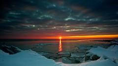 Openlands Main Event (jrobfoto.com) Tags: winter snow ice sunrise landscape shoreline lakemichigan openlands 5dmarkii