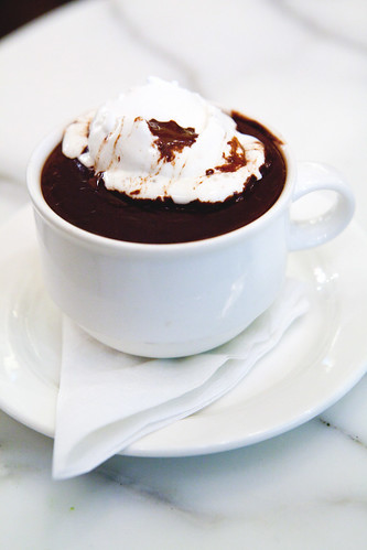 Maya - Spiced Dark Hot Chocolate with whipped cream