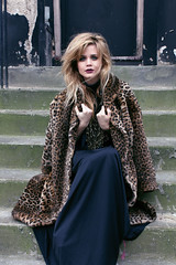 (dreamwhile) Tags: portrait girl fashion fur camden haunted editorial melancholy gaze