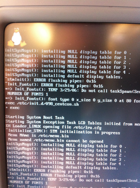 Finnair entertainment system booting