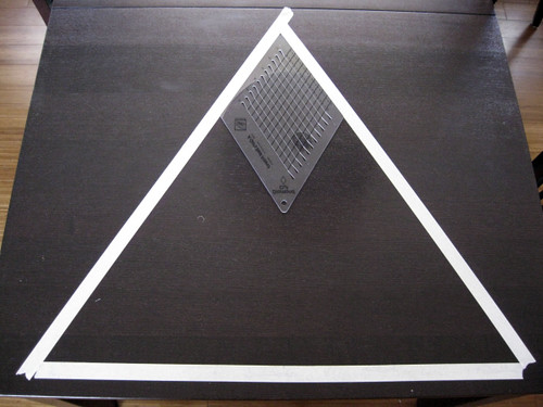 happy triangle template