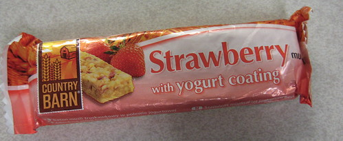 strawberrry bar