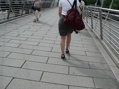 DSCF3123 (Candid Heels) Tags: street public stockings high pumps boots shots sandals candid heels pantyhose nylons