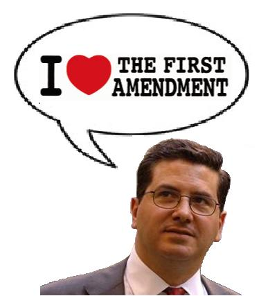 Dan Snyder, Free Speech Crusader