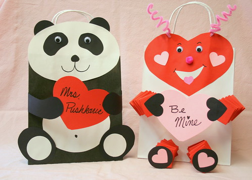 Bunches and Bits Valentine Card Holders – Valentine Card Holders for Kids