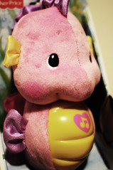 Pink dragon (botack) Tags: pink portrait baby cute girl female children toys nice nikon shoes pretty dragon sweet birth innocent young objects books pregnant clothes highkey tamron f28 f4 d90 2875mm