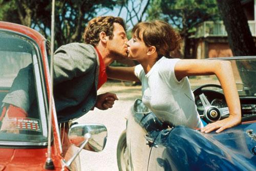 pierrot le fou kiss