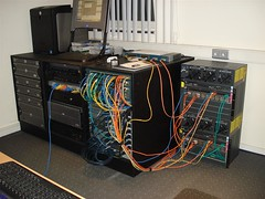 Lab with most recent additions (cybernbd) Tags: lab cisco 2600 3640 2610 3550 2950 2620 4006