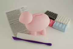 Fun Forms Piggy Bank Kit Contents