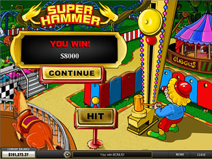 free Thrill Seekers slot bonus game 1