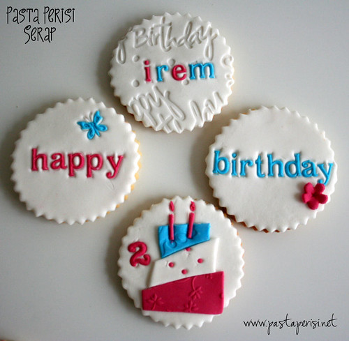 Happy Birthday cookie-irem