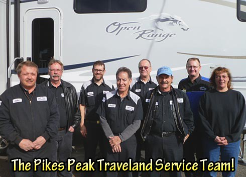 Pikes Peak Traveland Service Team
