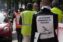 DSC_7077 (Riforma Gelmini (DDL 133/2008)) Tags: università protesta ricerca padova manifestazione gelmini