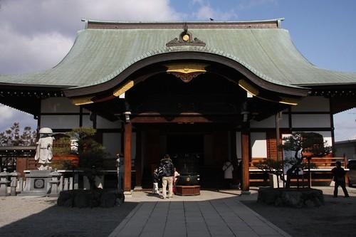 冬の大師堂 / A quiet appearance