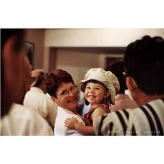 Mum & Ocane (dominikfoto) Tags: portrait france film smile nikon child scan mum maman agfa fm enfant sourire argentique pellicule
