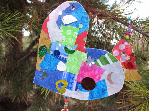Our collage ornaments #6