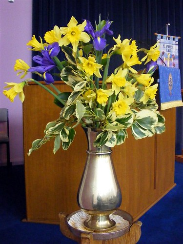 Flowers in Church 20/2/11