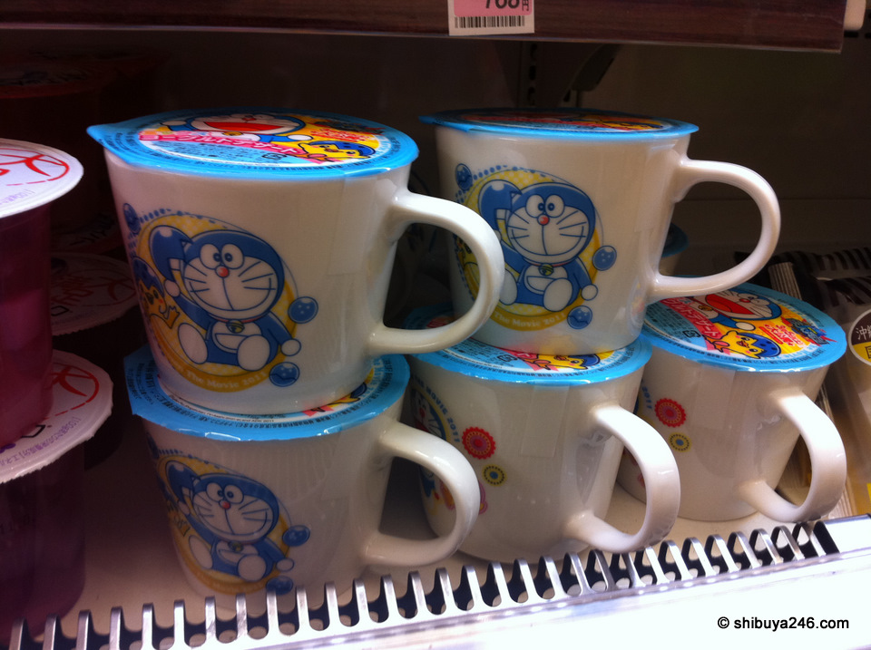 Doraemon in a cup !!
