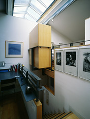 Interior View of Living Space - Photograph by Allan Forbes