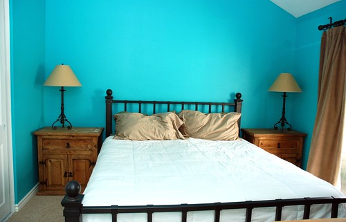 Master Bedroom, large wall..