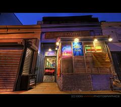 Variety Market [IMG_9347] color (digital_don) Tags: urban brick evening washingtondc neon decay neighborhood sidewalk storefront dcist pepsi shaw hdr allrightsreserved 3xp tonemapped dclottery img9349 img9347 img9348 varietymarket donharrisphotographicsllc 2011