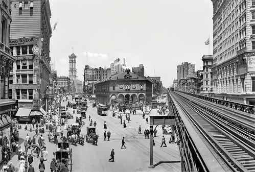 Herald Square ca 1908