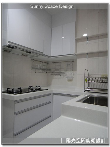 廚具工廠-永和中和路李小姐時尚廚房-陽光空間廚衛設計