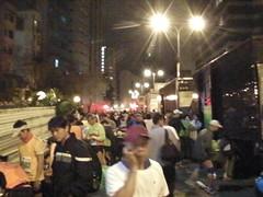 HongKong marathon 荷物預けトラック