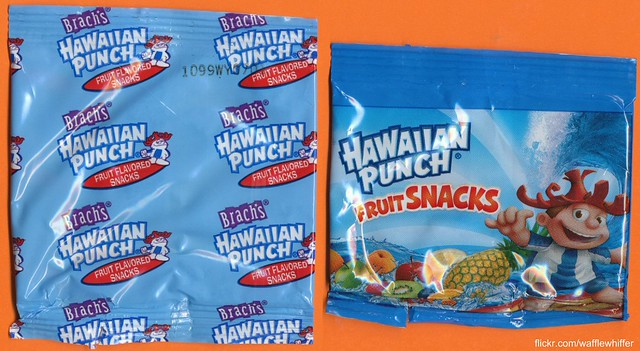 H-P Fruit Snacks - New vs. Old