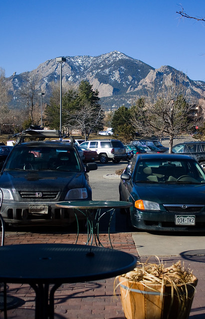 Bear Peak from the Parking Lot